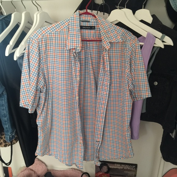 Nautica button up shirt